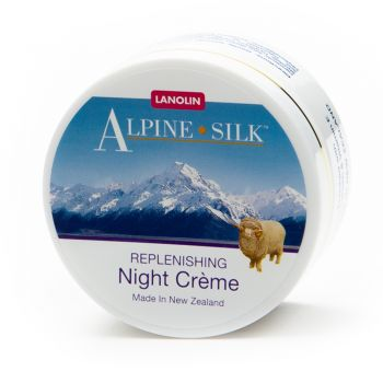 Alpine Silk Lanolin Replenishing Night Cream