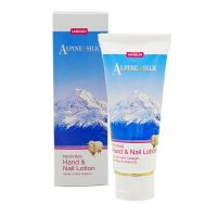Alpine Silk Reviving Lanolin Hand and Nail Lotion with Collagen, Keratin, Aloe Vera, and Vitamin E