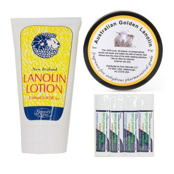 Set of 3 Lanolin Products