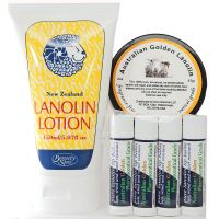 Arctic Blast Lanolin Set for Lips, Hands and Body