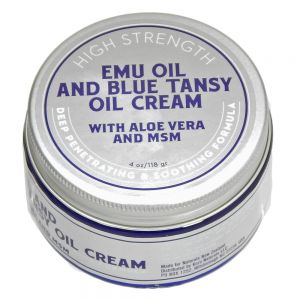Emu Oil, Blue Tansy Oil, Aloe and MSM Extra Strength Cream