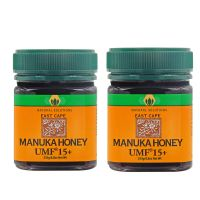 East Cape Te Araroa Manuka Honey UMF 15+ MGO 668 (small set of 2)
