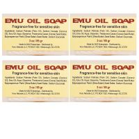 Emu Oil Soap Set of Four Bars