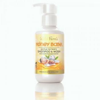 Honey Babe Baby Shampoo and Wash