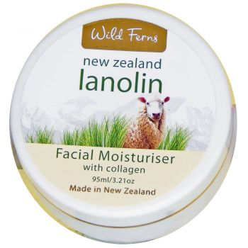 Wild Ferns Lanolin and Collagen Cream