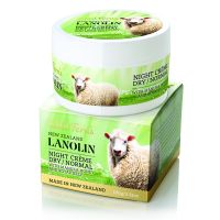 Wild Ferns Lanolin Night Cream Dry/Normal