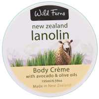 Wild Ferns Lanolin Body Creme