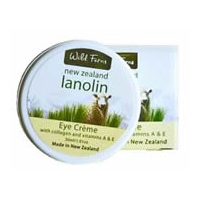 Wild Ferns Lanolin Eye Cream with Collagen