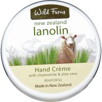 Lanolin, Camomile and Aloe Vera Hand Creme