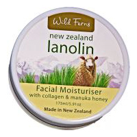 Lanolin, Manuka Honey and Collagen Facial Moisturizer