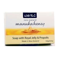 Wild Ferns Manuka Honey Soap with Royal Jelly and Propolis