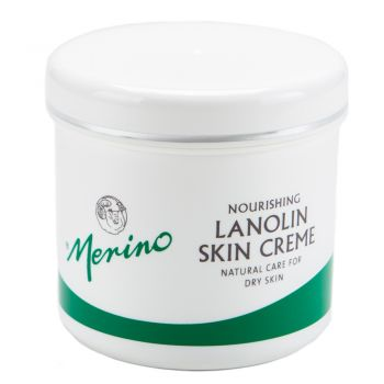 Merino New Zealand Dry Skin Lanolin Cream for Cracked Heels, Elbows and Soft Hands