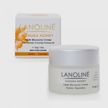Lanoline Manuka Honey Night Recovery Creme