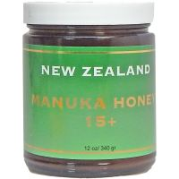 Manuka Honey 15+ in Glass Jars