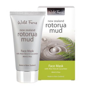 Rotorua Mud with Aloe Vera and Cucumber Face Mask