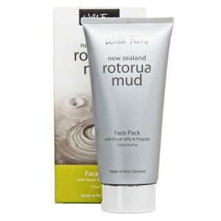 Wild Ferns Rotorua Mud Face Pack Mask with Royal Jelly
