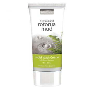 Wild Ferns Facial Wash Creme with Lime Blossom