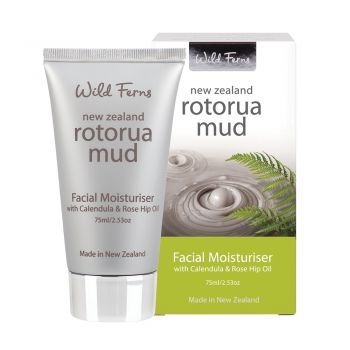 Rotorua Mud, Calendula and Rosehip Oil New Zealand Facial Moisturizer