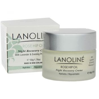 Lanoline Rosehip Oil Night Recovery Creme
