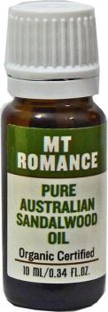 Mount Romance Sandalwood Oil Organic Certified