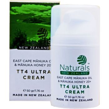 East Cape Manuka Oil and Manuka Honey 20+ TT4 Cream