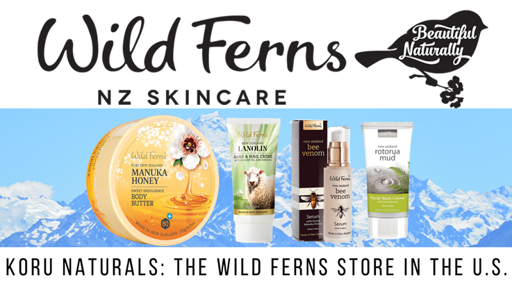 Koru Naturals Wild Ferns store in the U.S.